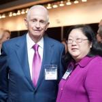 With Bill Marriott, Jr.