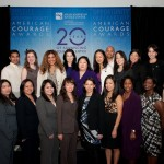 2011 American Courage Award with AAJC staff