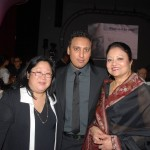 At South Asian Excellence Awards with Aasif Mandvi